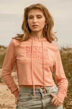 Desert Vibes Cropped Hoodie