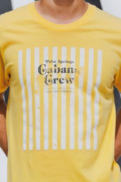 Cabana Crew Striped T (Yellow)