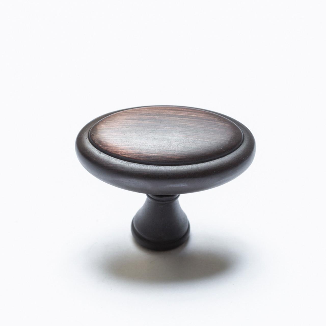 Esme Brushed Oil Rubbed Bronze Oval Knob K79040BORB