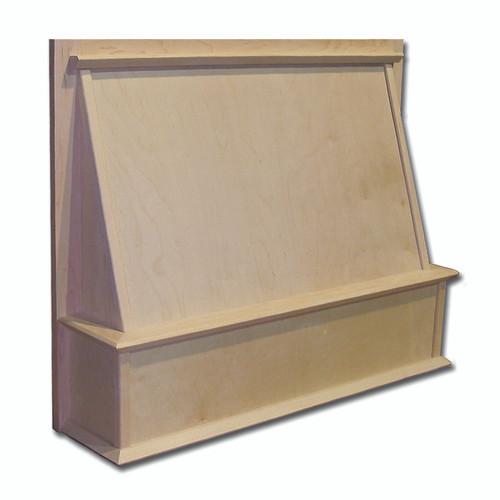"""Castlewood 30"""" x 24"""" Shaker Style Wood Range Hood Front, SY-JSKHF3024"""