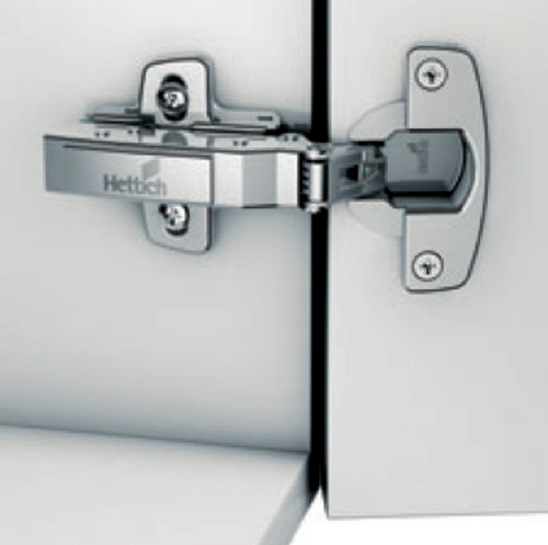 Hettich SENSYS 110 DEGREE OPENING WITH DOWEL/PRESS IN SOFT CLOSE FULL OVERLAY 907122604