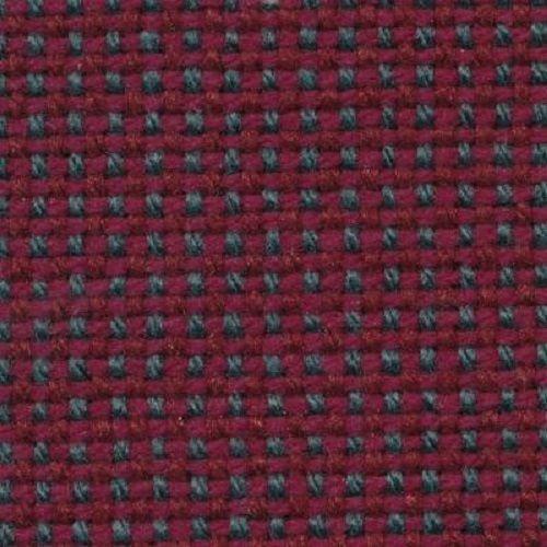 Burgundy/Aqua Tweed Automotive Cloth - By the Yard - ECO239