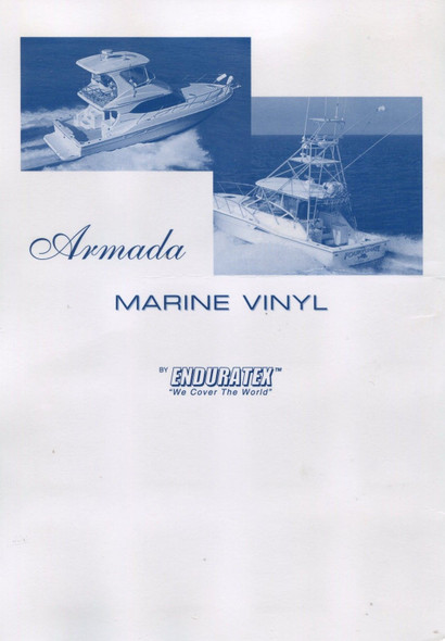 """Enduratex Endurasoft Armada ARM-104 Vinyl Fabric Ensign 54"""" Wide By the Yard"""