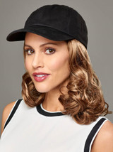 Curly Hat Black Attachment Headwear (HM)