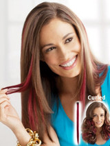 Human Hair Color Strips Clip-In Extension (1 pc) (PP)