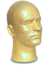 Men's Styrofoam Head (WB)