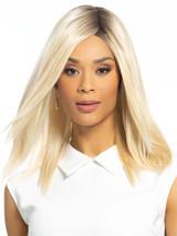 24/102/R12 Golden Blonde Platinum Highlights Rooted Golden Brown