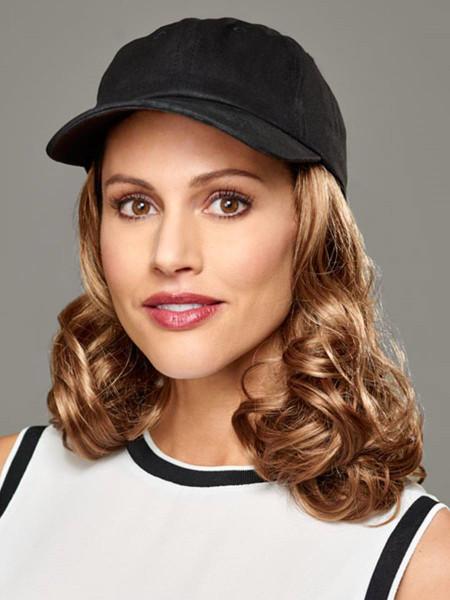 Curly Hat Black Attachment Headwear (HM)