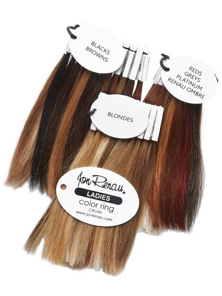 Jon Renau Ladies Human Hair Color Ring