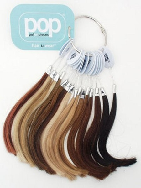 Put on Pieces Human Hair Color Ring