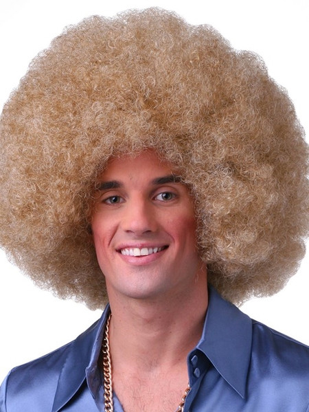 Color Afro Wig (WB)*clearance