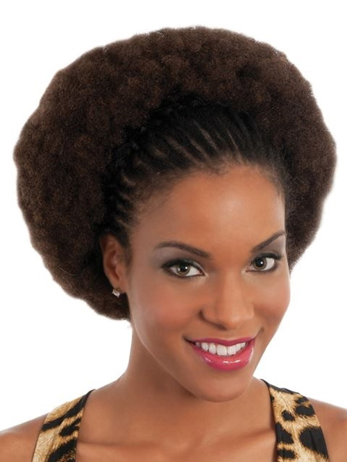 "16"" Human Hair Kinky Bulk Extensions (VF)"