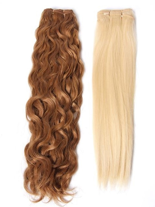 """Optimum Cuticle Hair Omega Natural Wave 18"""" Extensions (WP)*clearance"""