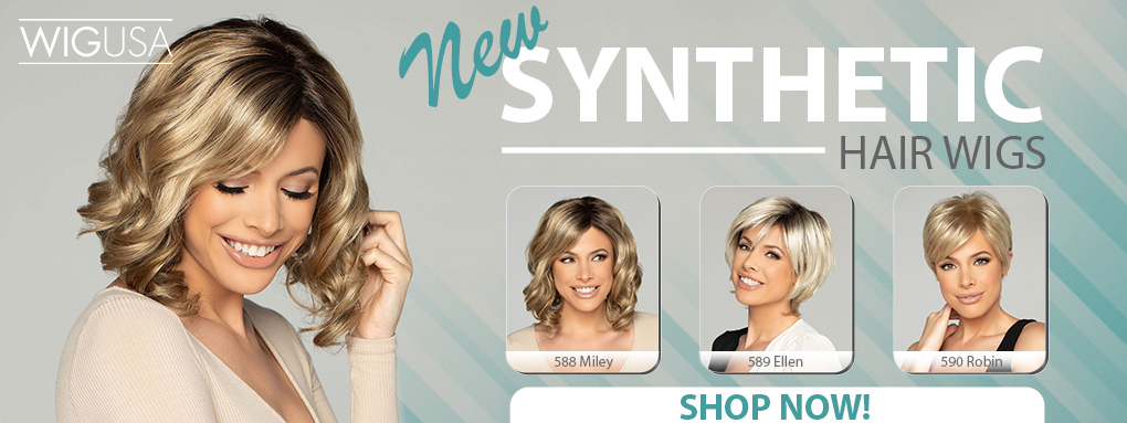 New Synthetic Hair Wigs by WigPro