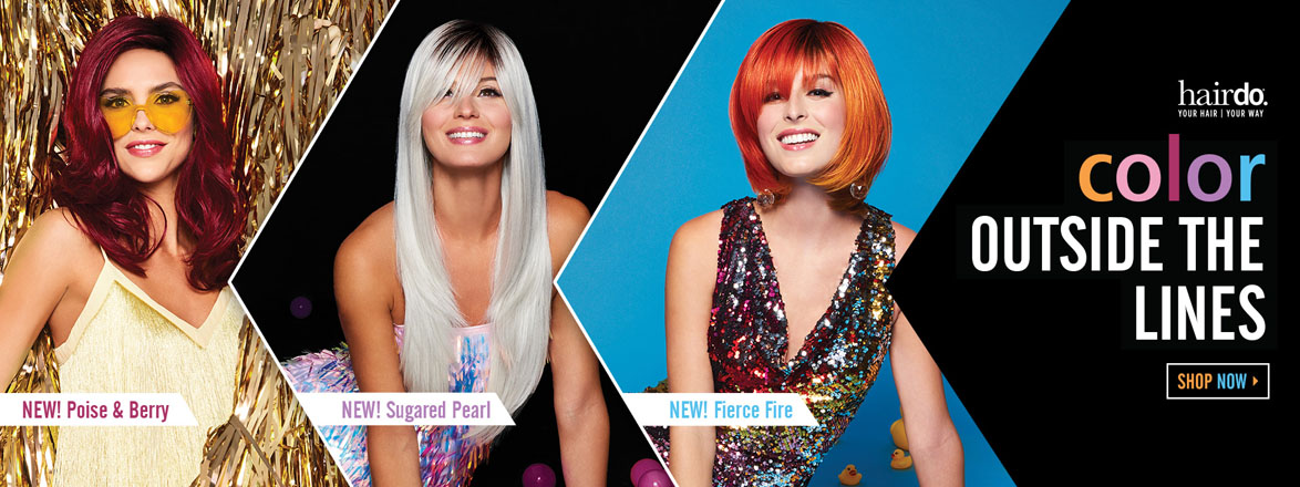 Fantasy Colored Wigs by Hairdo