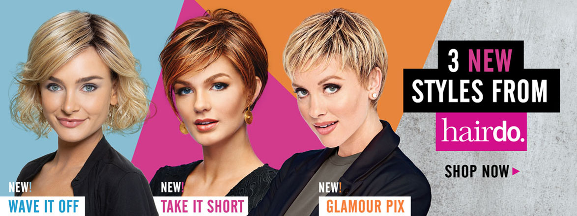 3 New Styles by hairdo