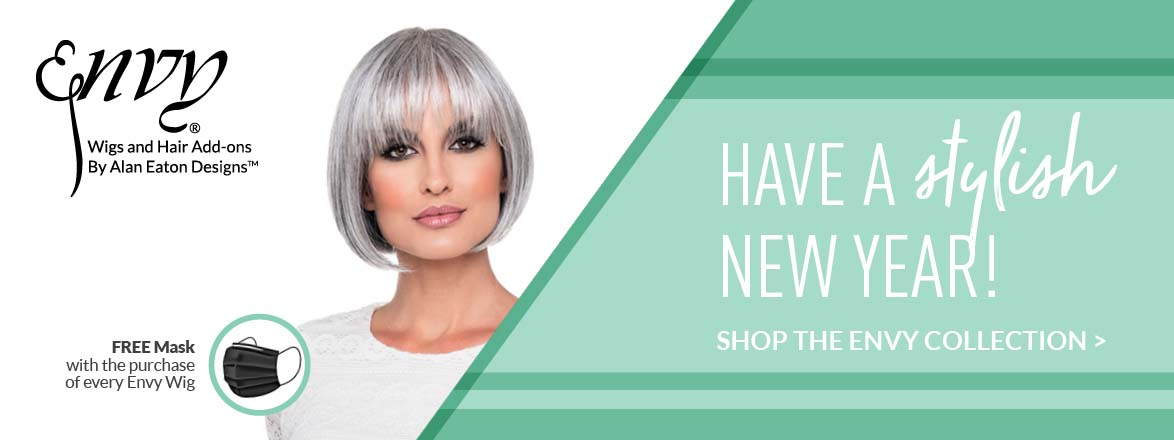 Free Mask with the purchase of every Envy wig