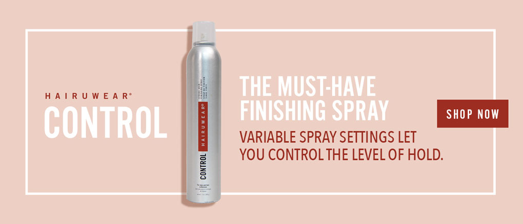 Control, the must-have finishing spray