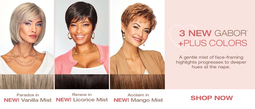 3 New Gabor Plus Colors in 14 Styles