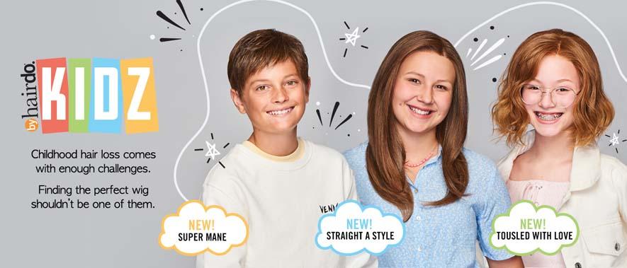 New Children's Wigs by KIDZ hairdo