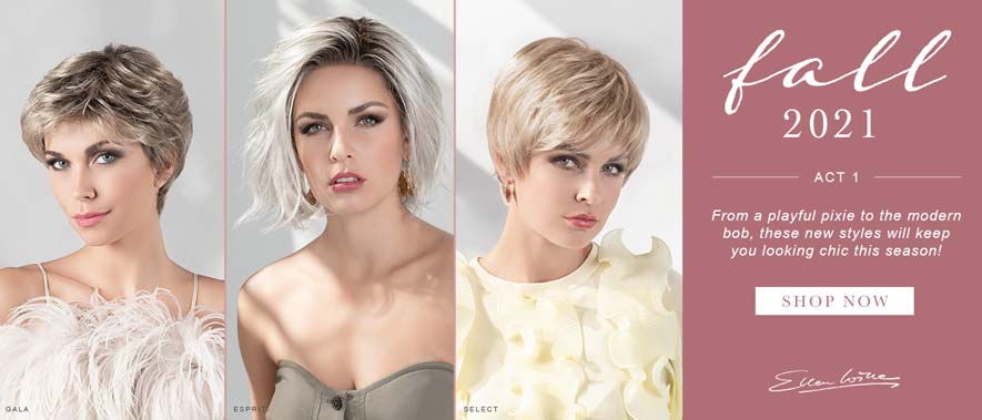 Ellen Wille  Hair Society Collection  2021 Fall Collection