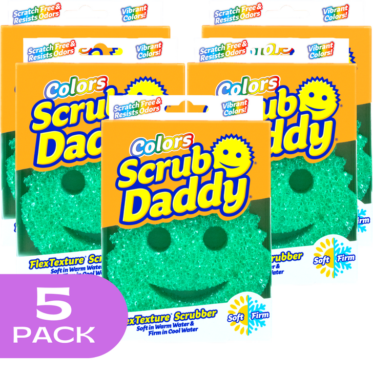 Scrub Daddy Colours - Green (5 Pack)
