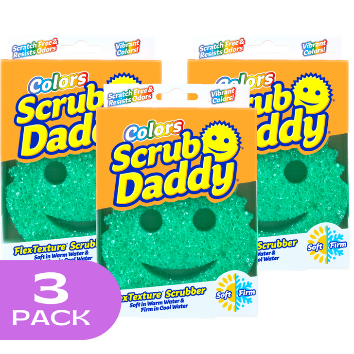Scrub Daddy Colours - Green (3 Pack)