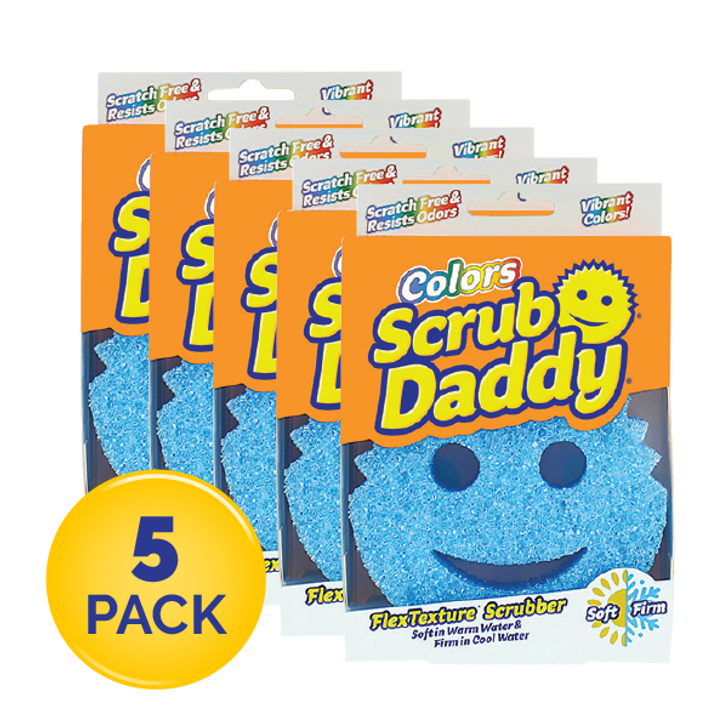 Scrub Daddy Colours - Blue (5 Pack)
