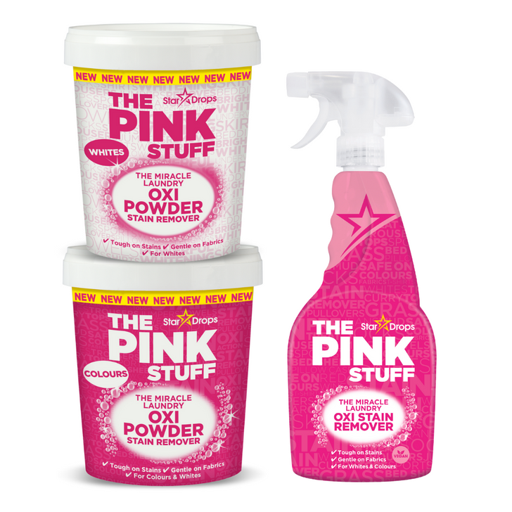 The Pink Stuff Laundry Pack