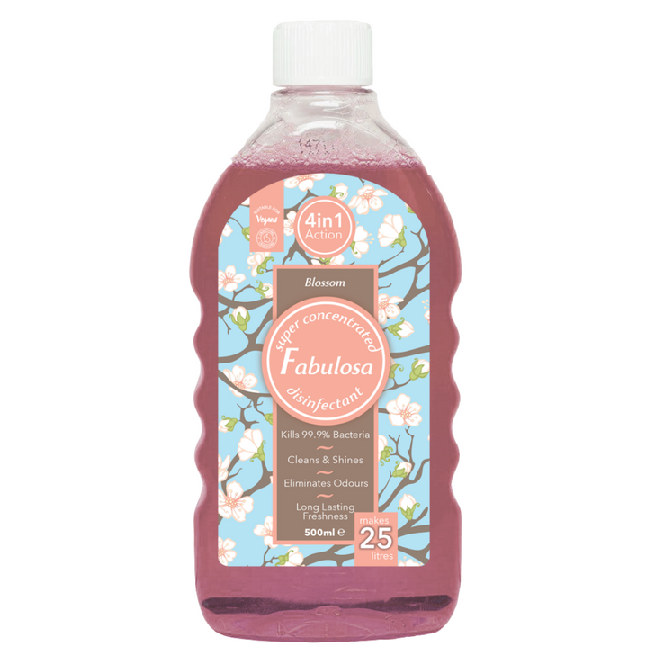 Fabulosa 4 in 1 Concentrated Disinfectant - Blossom (500ml)