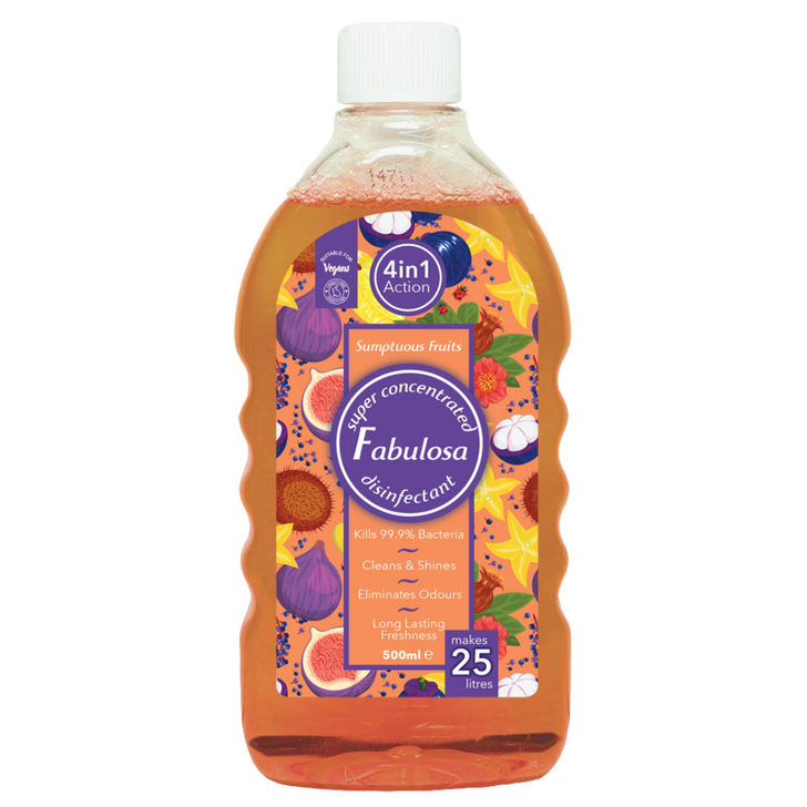 Fabulosa 4 in 1 Concentrated Disinfectant - Sumptuous Fruits (500ml)