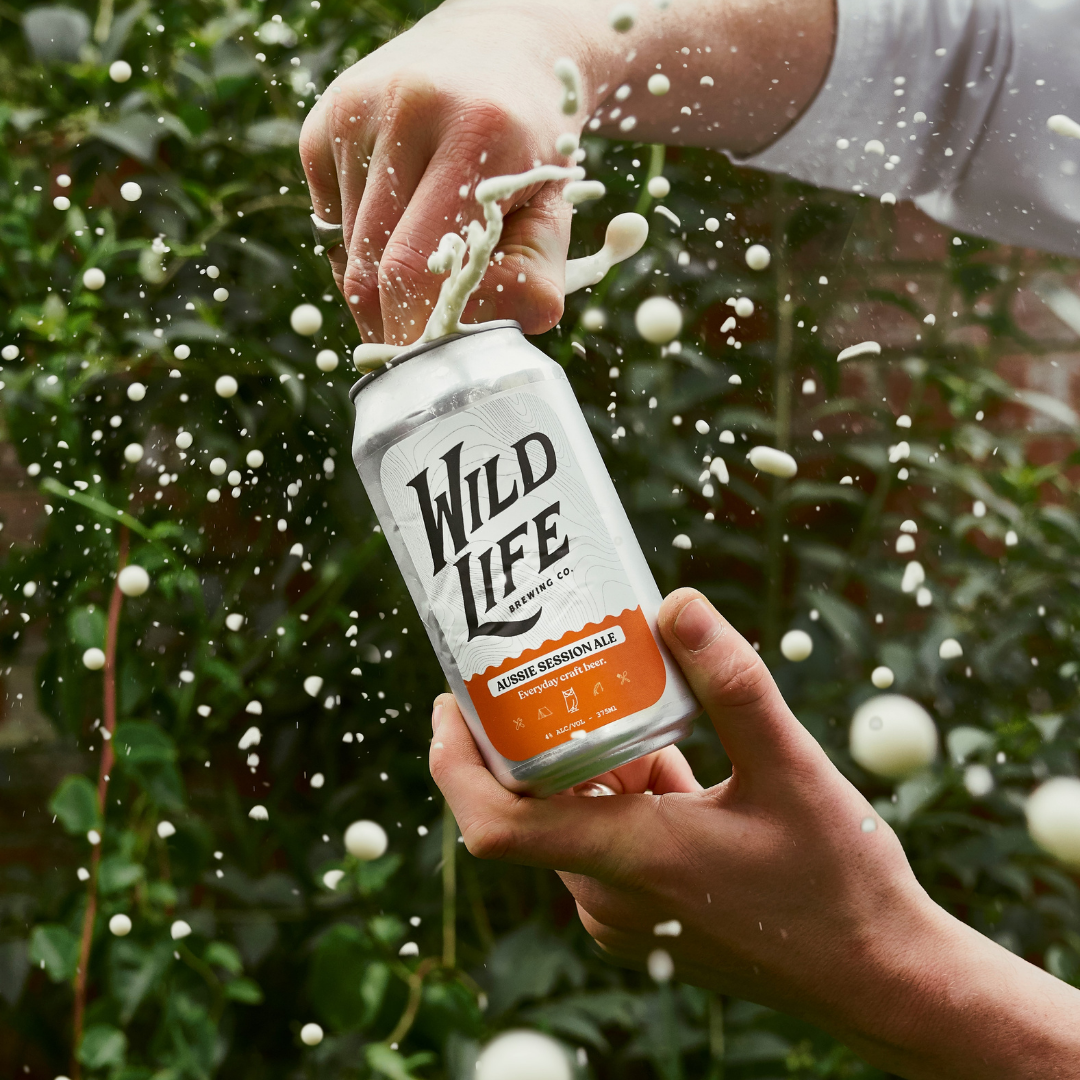 wild life brewing co, the mess makers