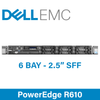 """Dell 11G PowerEdge R610 - 8 Bay 2.5"""" Small Form Factor - 1U Server - Configure to Order"""
