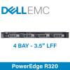 "Dell 12G PowerEdge R320 - 4 Bay 3.5"" Large Form Factor - 1U Server - Configure to Order"