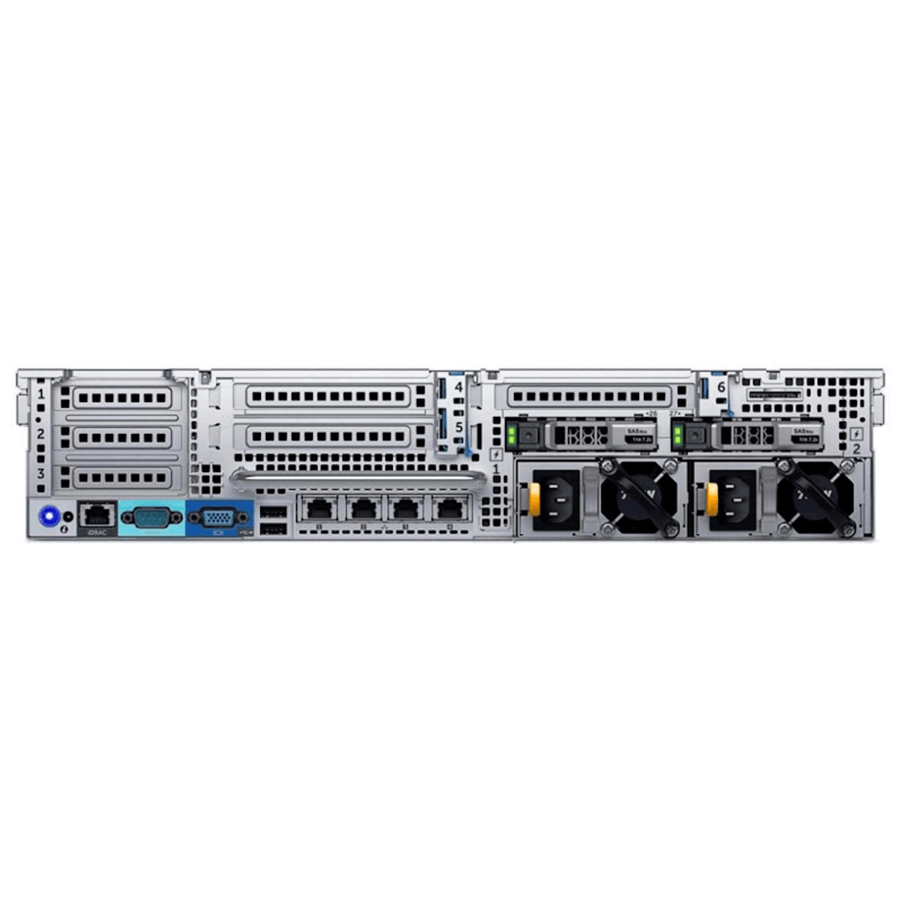 Renewed 32GB DDR4 2X Xeon E5-2650 V3 2.3GHz 10 Core 25MB 2X Trays Included 2X 750W PSUs iDRAC 8 Express Dell PowerEdge R630 8-Bay SFF 1U Server No Rail H330 2TB NVME SSD