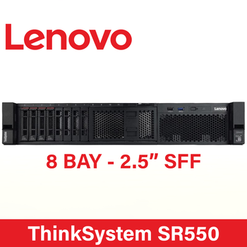 Lenovo ThinkSystem SR550 - 2U Server - 2x Xeon 4110 - 32GB - No HDD - RAID 530-8i - 2x 550W