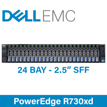 "Dell 13G PowerEdge R730xd - 24 Bay 2.5"" Small Form Factor - 2U Server - Configure to Order"