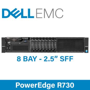 Dell Poweredge R730 SFF 8x 2U Rack Server