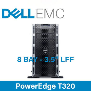 "Dell 12G PowerEdge T320 - 8 Bay 3.5"" Large Form Factor - 5U Server - Configure to Order"