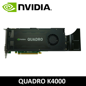 Dell Nvidia Quadro K4000 3GB GDDR5 2x DP + 1x DVI PCI-e Graphics Card