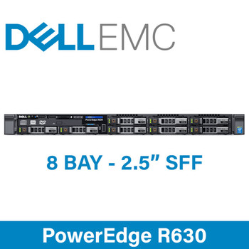 "Dell 13G PowerEdge R630 - 8 Bay 2.5"" Small Form Factor - 1U Server - Configure to Order"