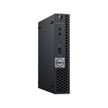 Dell OptiPlex 7070 Micro Form Factor Workstation - Intel Core i7-8700 3.2GHz (4.6GHz Turbo) 6 Core Processor - 8GB DDR4 - NVMe SSD - Intel UHD Graphics 630 - Windows 10 Pro - Ready to Order
