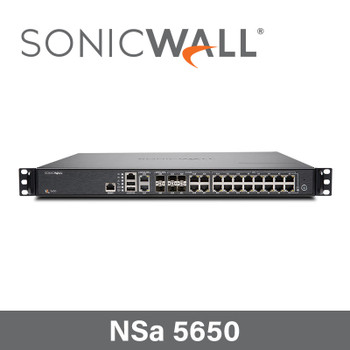SonicWall NSa 5650 Security Appliance with 3 Year Secure Upgrade Plus Advanced Edition - 01-SSC-4346