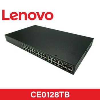 Lenovo CE0128TB 24-Port 1GbE RJ45 + 4-Port SFP+ 10GbE  Managed L2/L3 Rack-Mountable Switch