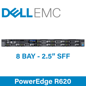 """Dell 12G PowerEdge R620 - 8 Bay 2.5"""" Small Form Factor - 1U Server - Configure to Order"""