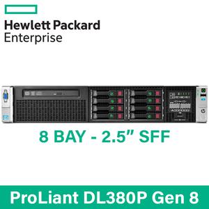 "HP ProLiant DL380p G8 - 8 Bay 2.5"" Small Form Factor - 2U Server - Configure to Order"