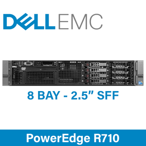 """Dell 11G PowerEdge R710 - 8 Bay 2.5"""" Small Form Factor - 2U Server - Configure to Order"""