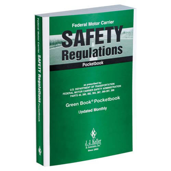 FMCSR pocketbook gives your drivers easy access to word-for-word Federal Motor Carrier Safety Regulations in a convenient smaller format.
