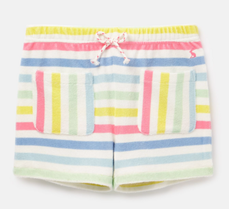 Joules Multi Stripe Terry Shorts