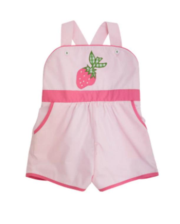 Beaufort Bonnet Strawberry Ruthie Romper